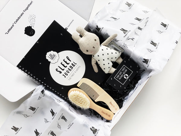 sleep well baby gift set