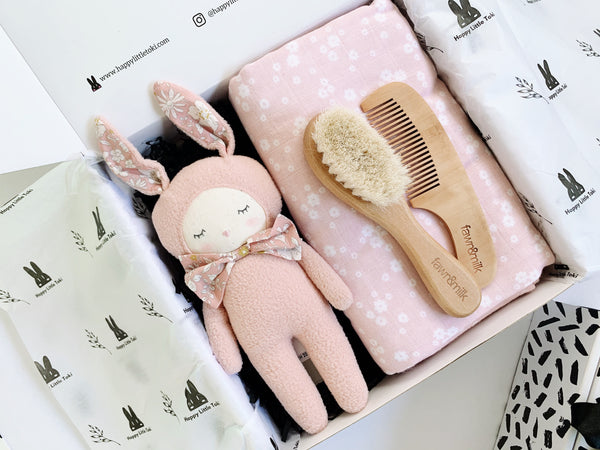 Dreamy Pink Bunny Baby Gift Set