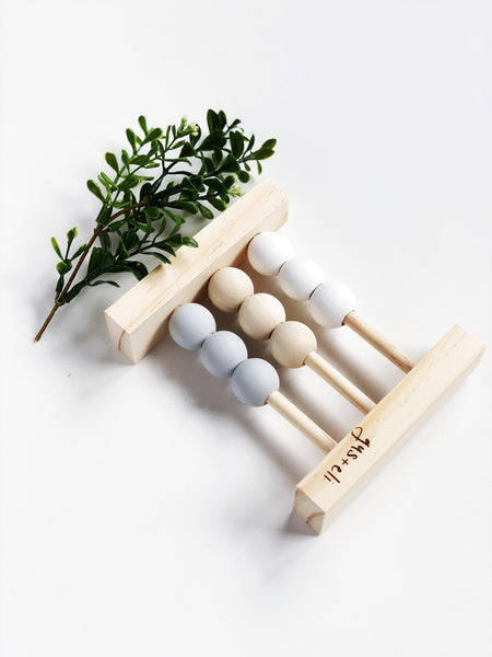 baby wooden abacus toy