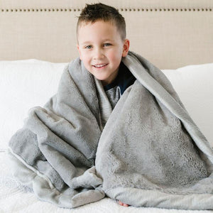 Saranoni Lush Toddler to Teen Blanket - Gray