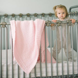 Saranoni Light Pink Bamboni Receiving Blanket