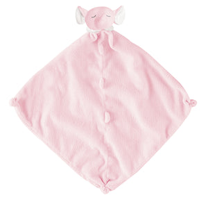Angel Dear Lovie Blankie - Pink Elephant
