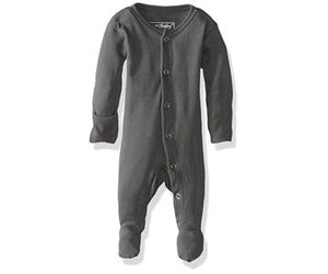 Lovedbaby Footed Overall Gray 0-3M