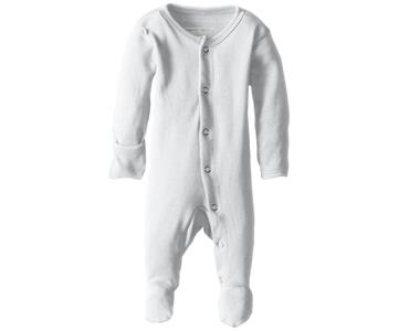Lovedbaby Footed Overall White 3-6M