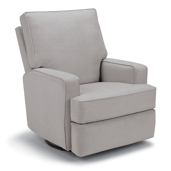 Best Chairs Kersey Swivel Glider Recliner