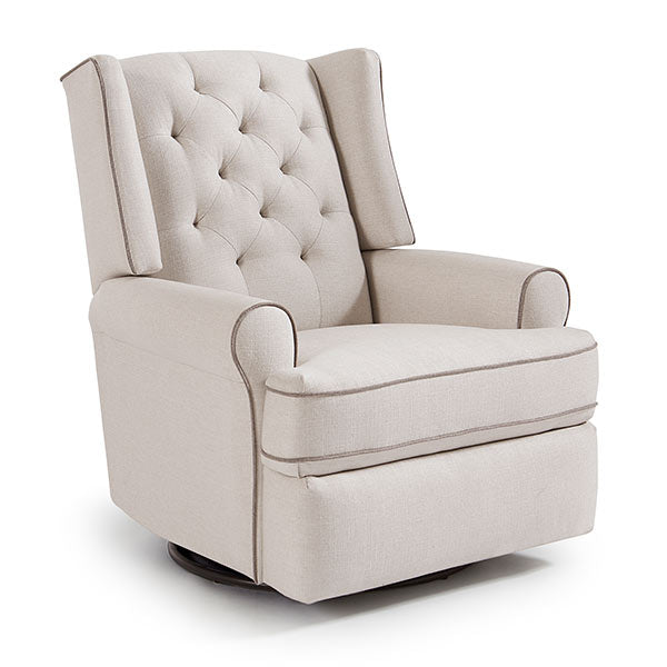 Best Chairs Kendra Swivel Glider Recliner