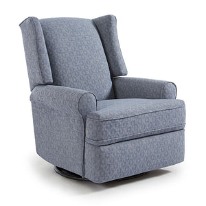 Best Chairs Logan Swivel Glider Recliner