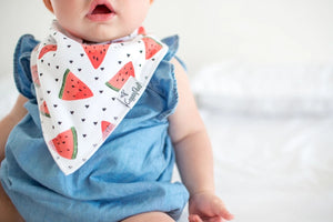 Copper Pearl 4-Pack Bandana Bibs - Georgia