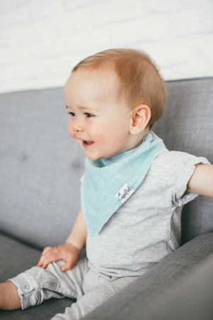 Copper Pearl 4-Pack Bandana Bibs - Archer