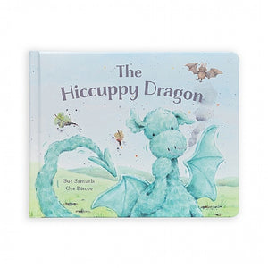 Jellycat The Hiccuppy Dragon Board Book
