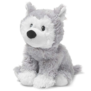 Warmies Cozy Plush Heatable Husky