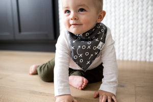 Copper Pearl 4-Pack Bandana Bibs - Quarterback