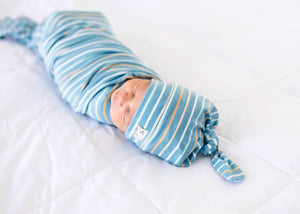 Copper Pearl Knit Swaddle Blanket - Milo