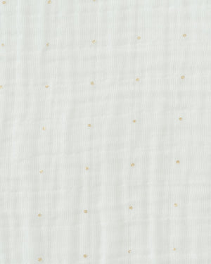Little Unicorn Single Swaddle - Gold Dot
