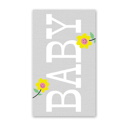 rock scissor paper enclosure card - big baby