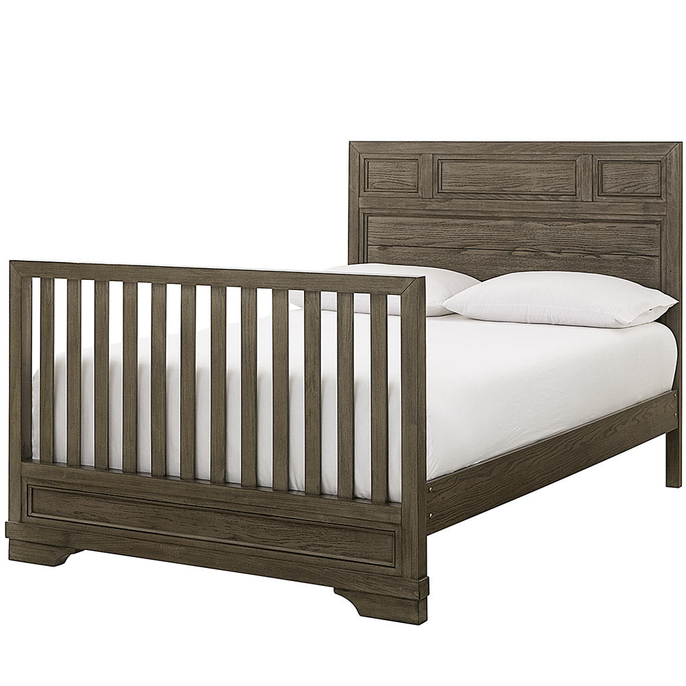 Westwood Foundry Full Size Bed Conversion Rails in Brushed Pewter