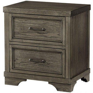 Westwood Design Foundry Nightstand in Brushed Pewter