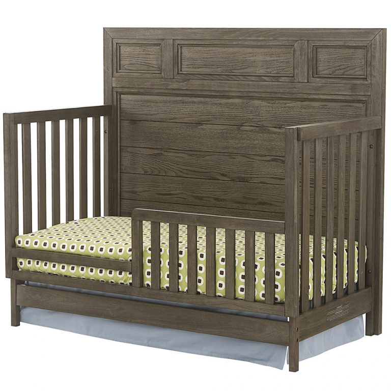 Westwood Foundry Toddler Rail in Brushed Pewter