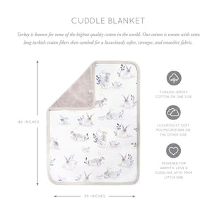 Oilo Cuddle Blanket in Cottontail