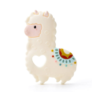 Loulou lollipop Llama Silicone Teether - Single