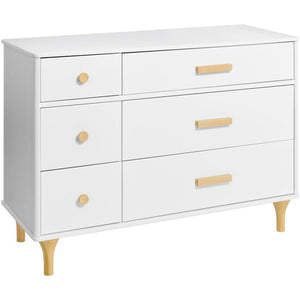 Babyletto Lolly 6-Drawer Assembled Double Dresser
