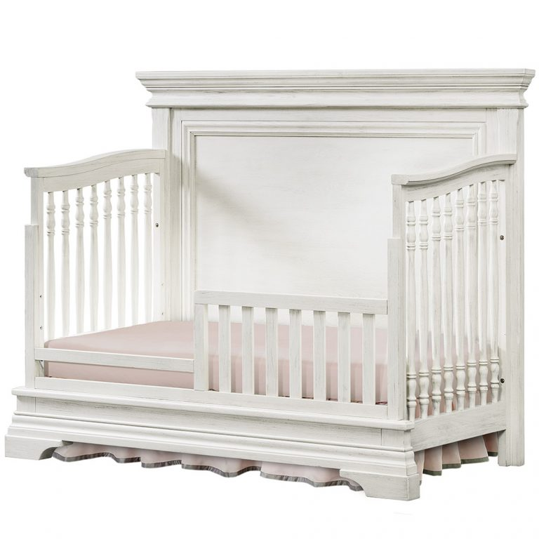 Westwood Design Olivia Toddler Rail In Brushed White
