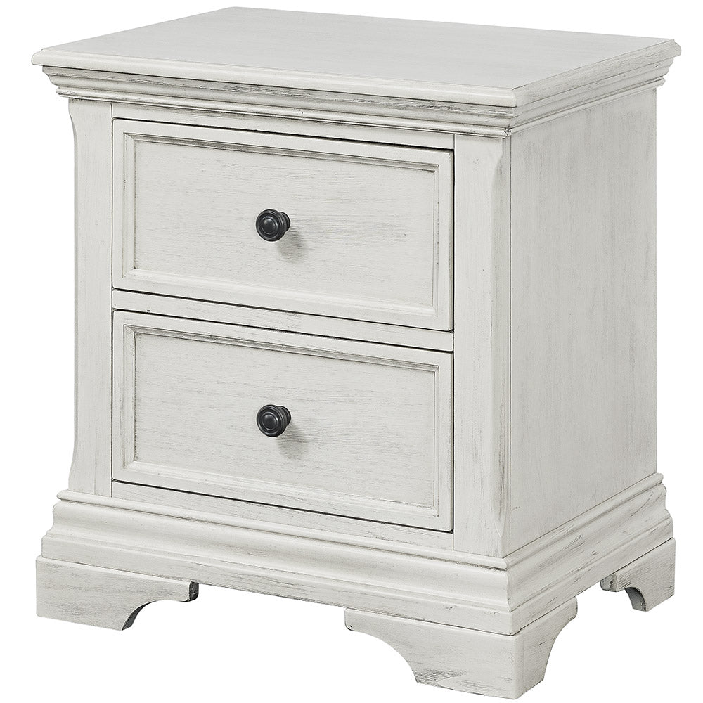 Westwood Design Olivia Nightstand In Brushed White