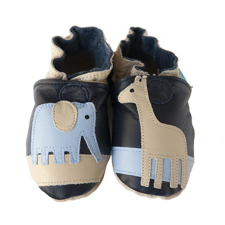 Cade&Co Safari Shoe Navy Blue 0-6 Month Size