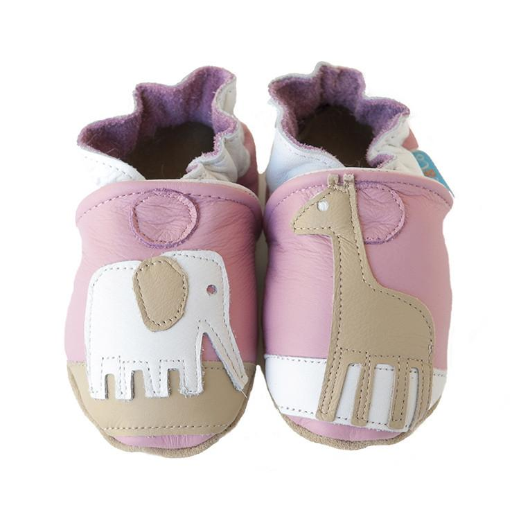 Cade&Co Safari Shoe Pink 0-6 Month Size