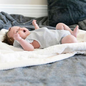 Saranoni Natural Lush Receiving Blanket