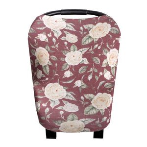 Copper Pearl Multi-Use Car Seat Cover - Scarlet