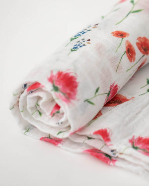 Little Unicorn Cotton Muslin Single Swaddle - Wild Mums