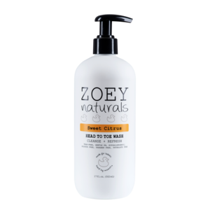 Zoey Naturals Head to Toe Wash Sweet Citrus