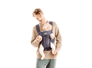 BabyBjorn Carrier Mini in Dark Gray Jersey
