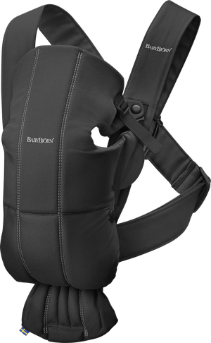 BabyBjorn Carrier Mini in Black Cotton