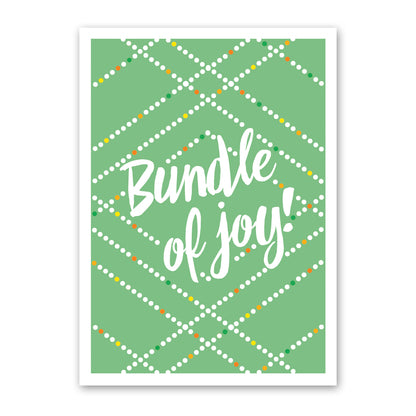 rock scissor paper card - bundle of joy