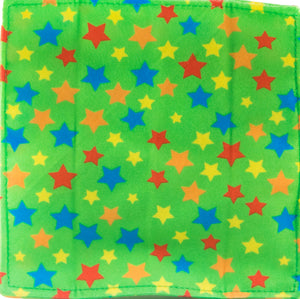 Baby Paper In Green Stars