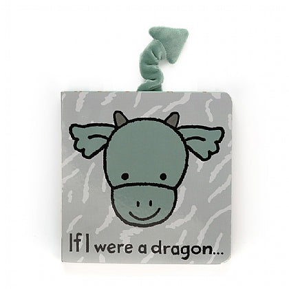 Jellycat If I Were A Dragon Book