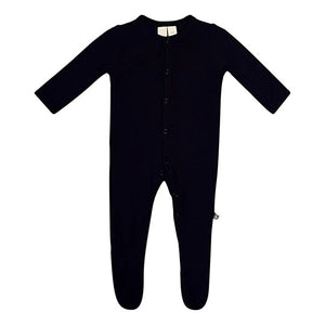 Kyte Baby Snap Footie - Midnight