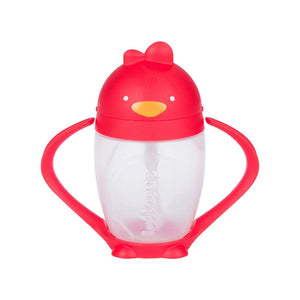 Lollaland Lollacup Straw Sippy Cup in Bold Red