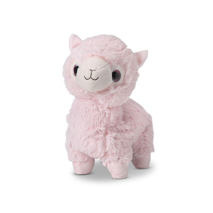 Warmies Cozy Plush Heatable Pink Llama