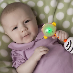 NogginStik Developmental Light Up Rattle