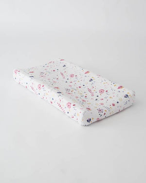 Little Unicorn Changing Pad Cover - Fairy Garden