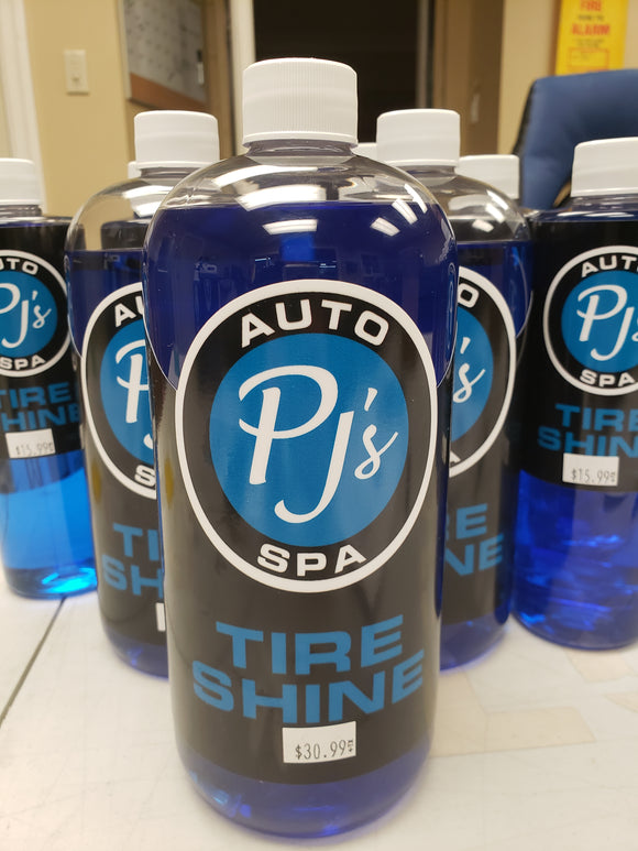 PJs Premium Tire Shine 32oz.
