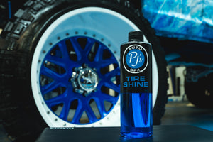 PJs Premium Tire Shine 16oz.