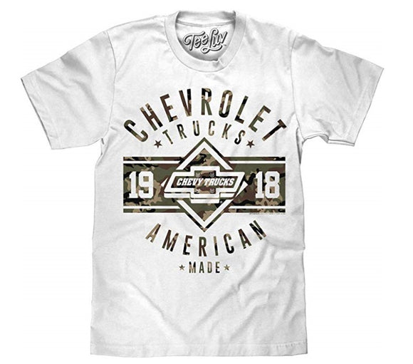 Chevrolet Trucks T-Shirt - 'Since 1918' American Made Chevy Truck Shirt