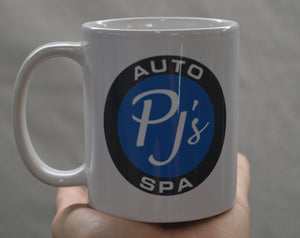 PJs Auto Spa Coffee Mug