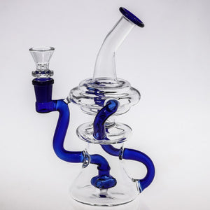 "7 3/4"" Glass Water Bong"