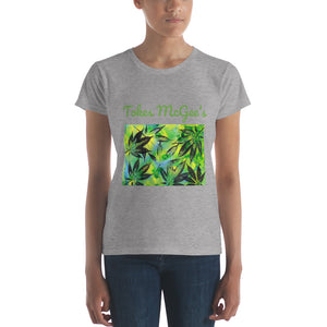 Tokes McGee's Women's Leaf Tee