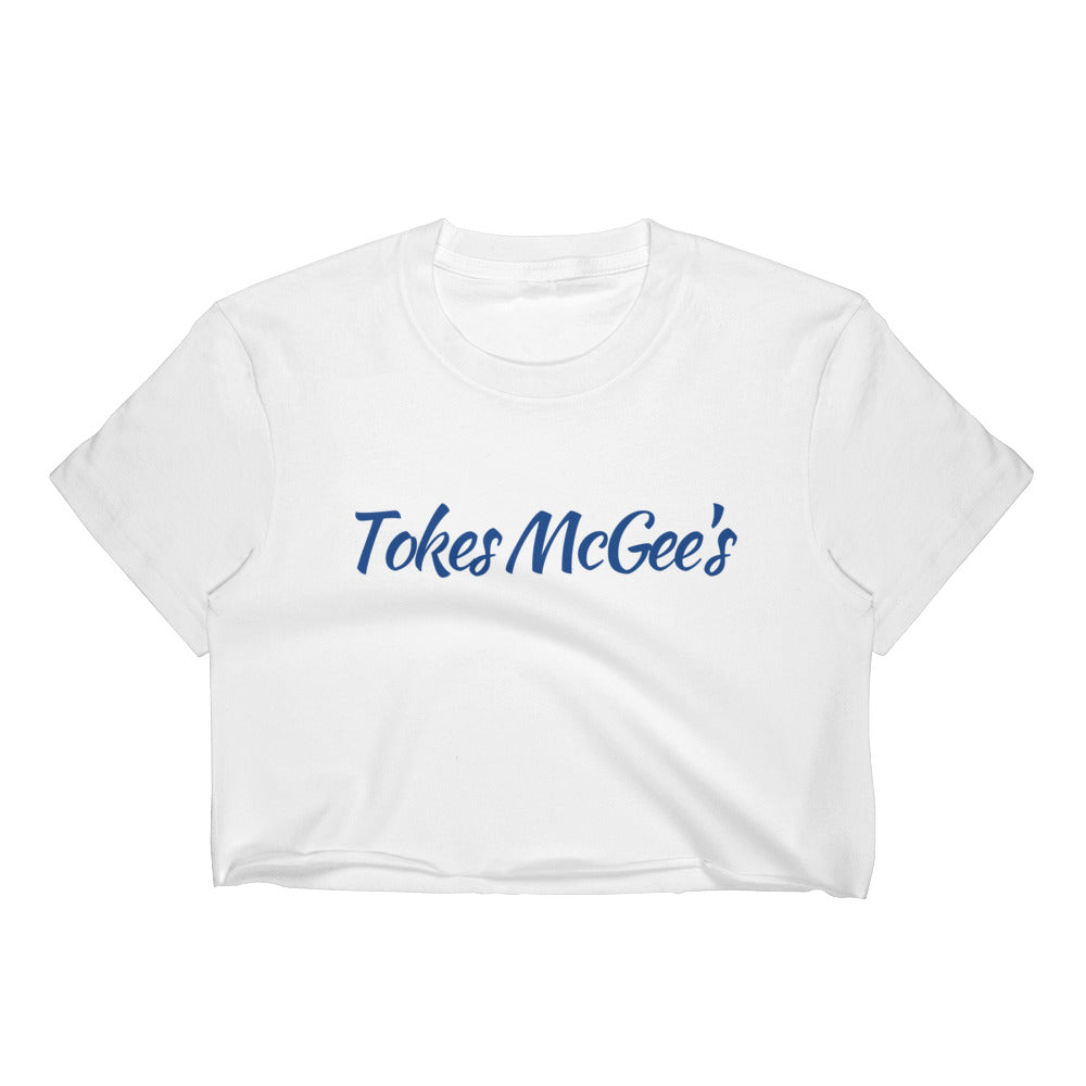 Tokes McGee's Women's Crop Top